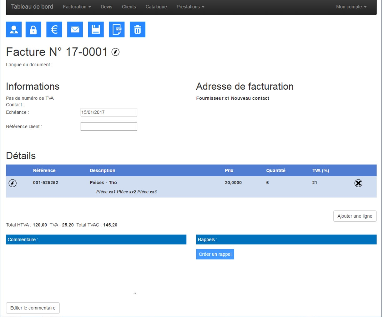 facturation facile logiciel de facturation en ligne simple rapide